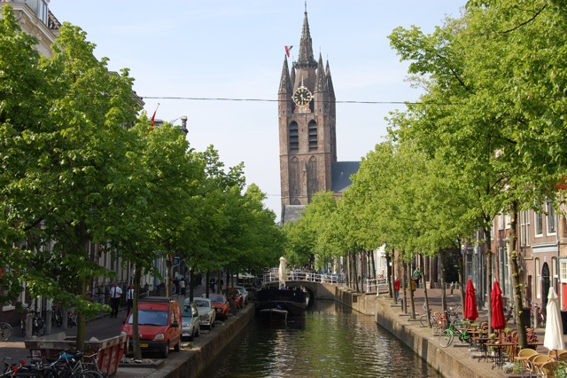 旧教会|Oude Kerk(アウデ・ケルク)|オランダ、デルフト