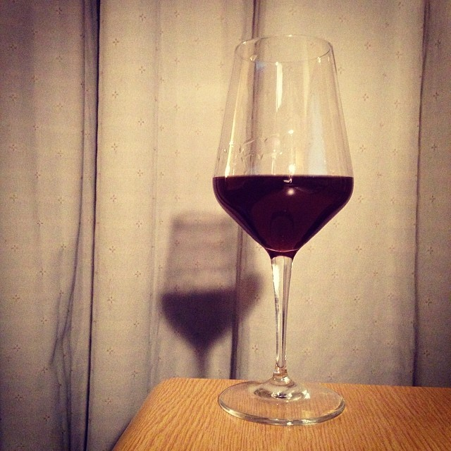 Self-made plum liquor, brown sugar version. Bitter but sweet and fruity. Yes, suceeded!!