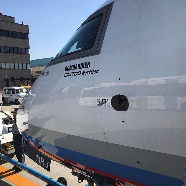 ボンバルデイア で大阪へ #bombardier #crj700