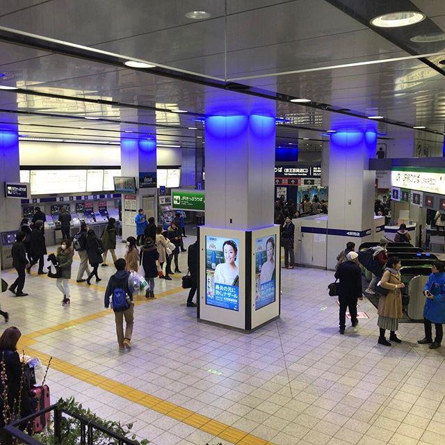 今日もまた やっぱり迷うね 新宿駅 (五七五)