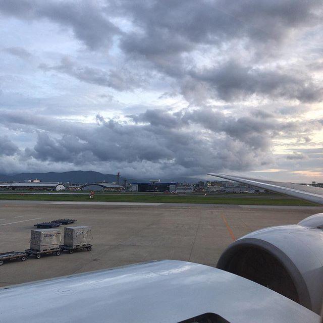 福岡→佐世保→(これから)東京。今日は大移動の日。