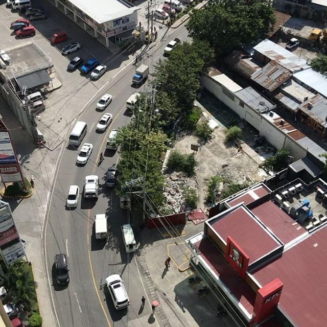 学校からの眺めは良いよ。この学校に来るのも今日まで。#cebu #phillipines