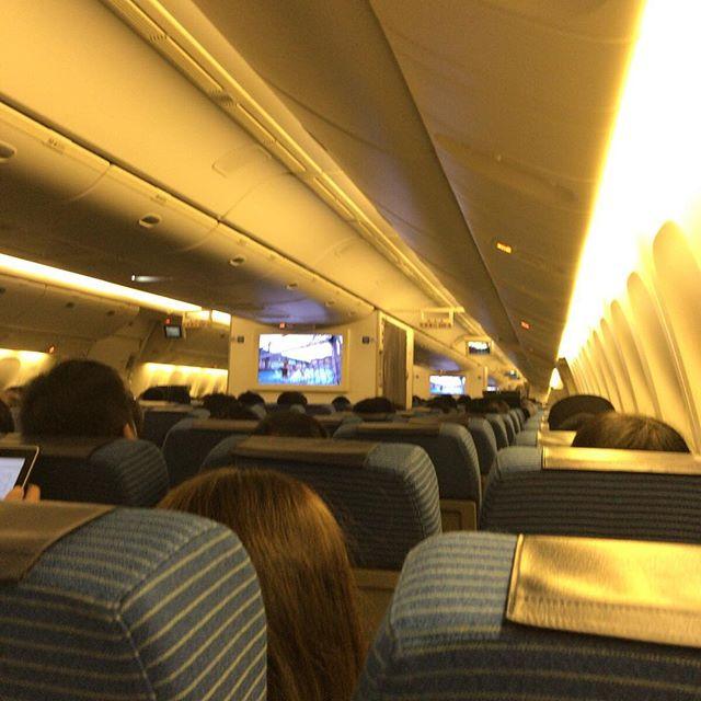 座席は後ろの方が好きなのです。昨日の写真だけど #今日の一点透視図法