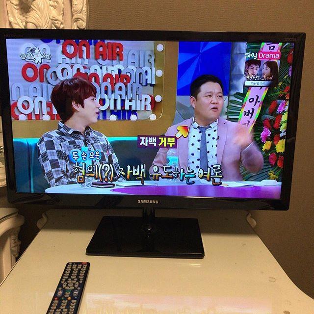 バラエティ番組に字幕が多いのは日本と似てるねぇ。