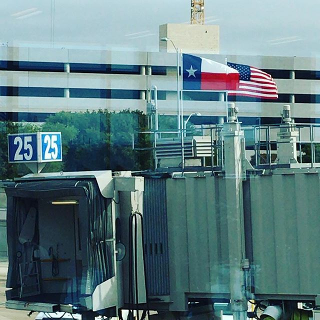 テキサスではアメリカの国旗よりもテキサス州の旗をよく見たなあ。