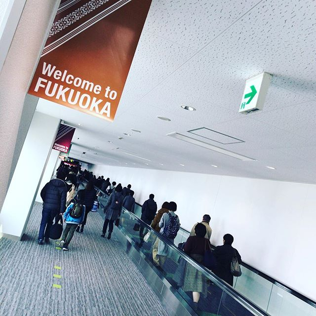 Welcome (back) to Fukuoka! #今日の一点透視図法