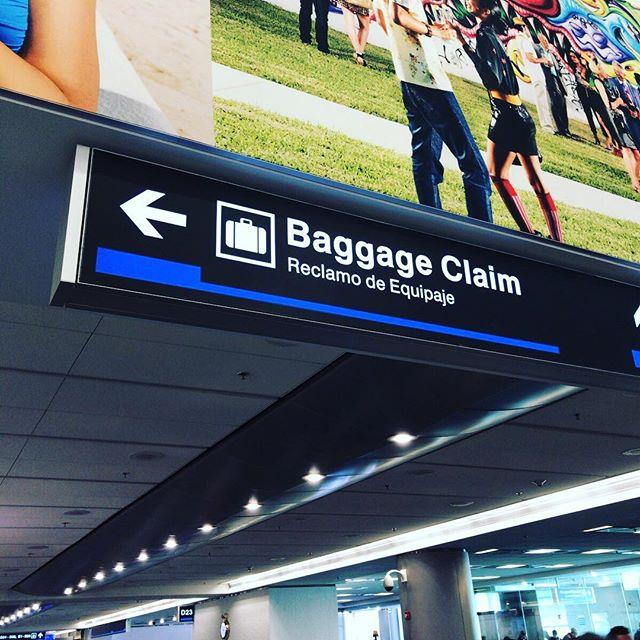 第一外国語はもちろんスペイン語。マイアミに着いたよ。