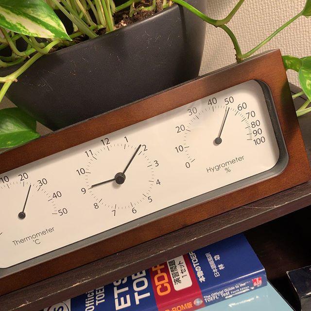 暑くはないけど湿度高いので「ドライ」運転。で、この湿度。快適。